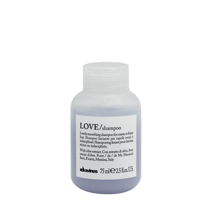 Shampoing cheveux frisés LOVE smoothing 75ml